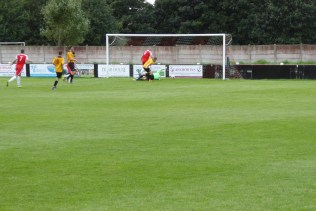 Second goal to the Wood. Come on the Wood, that's the way to do it, was the call.