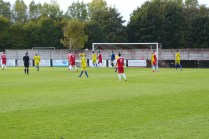 Second half and the Wood put the Sphinx under pressure, for a while