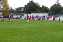 First goal to Loughborough, in the second half. Ouch!