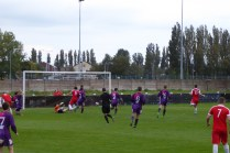 Equalising goal to the Wood in the second half. Love the Wood!