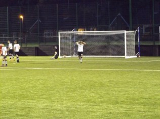 The winning goal, to the Wood, in the final minutes of this hard, sporting contest.