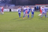 Team celebration as Shawbury score another goal