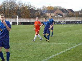 Two Stourport players were required to mark Karl Edwards, it was noted. Love the Wood!