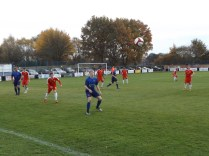 """Stourport in full attack mode in the later stages of the second half, """"giving it both barrels"""""""