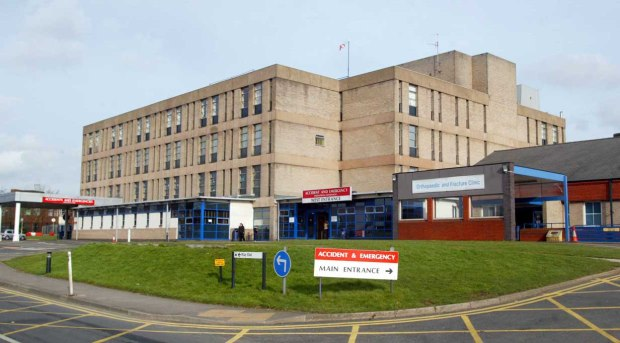 Pictured is New Cross Hospital in Wolverhampton. Credit: Sam Stephenson / newsteam.co.uk 15/2/07