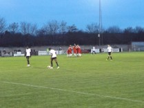 The Wood give a master lesson in rejoicing, and team spirit, after scoring their goal. Bostin, utterly bostin!