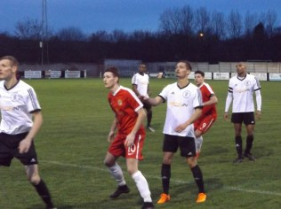 Wood show greater spring in their step as the match progresses