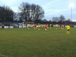 The Wood on full attack mode in the second half, as Tividale defend well.