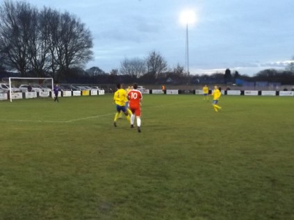Late in the second half sees Drew working his magic and score a well-deserved goal for the Wood, but it was to be the Wood's day. Not today. Well -deserved win to Tividale.