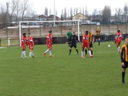 A moment to celebrate, then its back to work for both teams. Romulus so far undaunted.