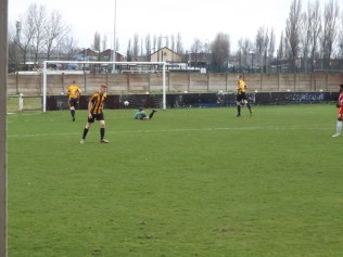 A cracking goal and number three to the Wood