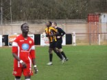 Romulus goal-scorer keen to get on with the match