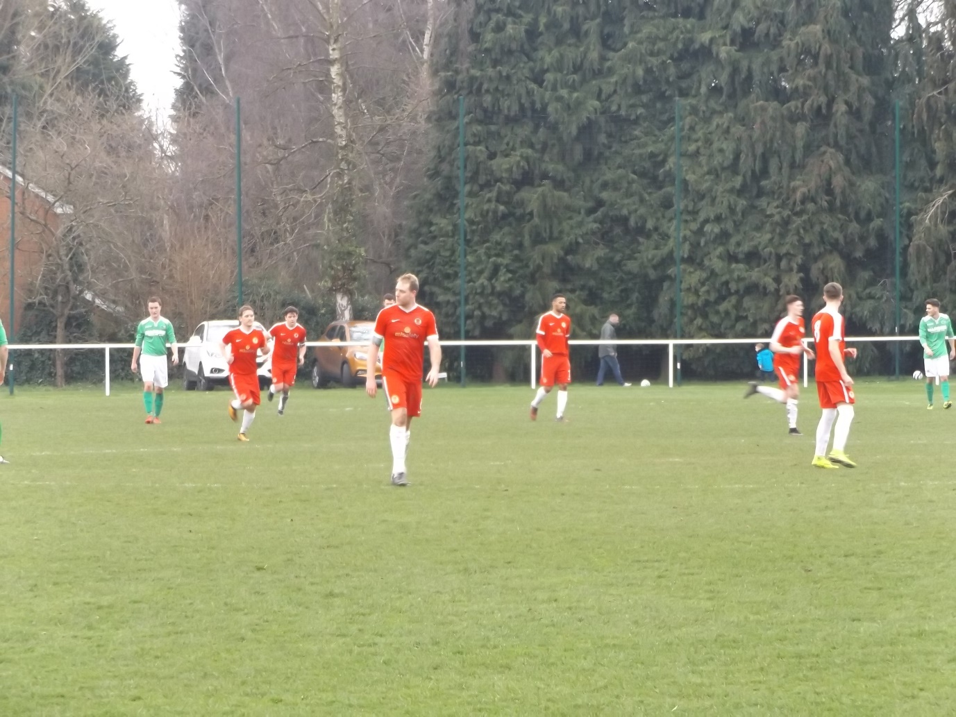 A two-second moment of elation then its quickly on for the Wood to try to score a winning goal, with seemingly greater reserves of energy than their opponents