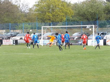 First half and the Wood urn up the pressure forcing Tipton to defend well. Fine football