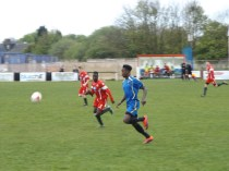 Second half brings great endeavour by Tipton to try to claw back from a two goal deficit.