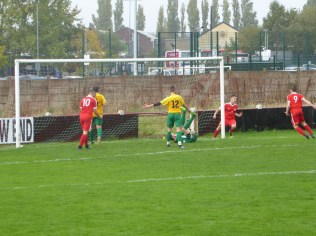 Wood's no 2, Mario ran the whole length of the pitch to score this sweet goal. Bostin!