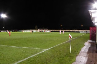 Second goal to Highgate , after another well-worked free kick. Sport or theatrics?