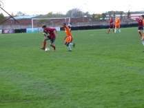 Pelsall in fine form in the early stage of this match