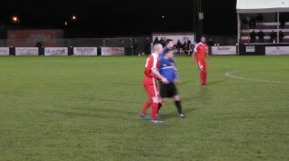 Close play and accurate passing by both teams characterised this evening's play. Delightful to spectate by the toe-tapping huffing spectators