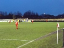 Another goal. Its six goals to nil now. Late in the second half