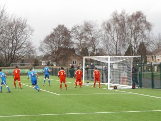 First half and an excellent equalising goal to Lichfield brings applause from spectators from both camps. A sporting encounter, well appreciated by all who watched.