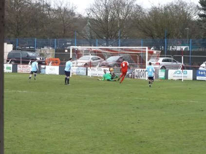 First half and another goal to the Wood .