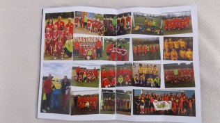 A special commemorative double page collage of most of the Saints winning teams. Kindly offered for inclusion. At least another six teams need to have their photo special! An amazing programme.