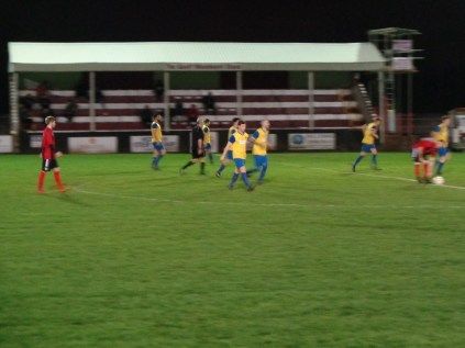 Second half, and Northfield have scored the equalising goal. Game on.