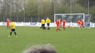 Celebration time for Warwick. First half
