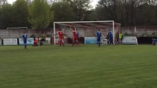 Second goal to the Wood. Second half and need to change the camera battery, quick, now