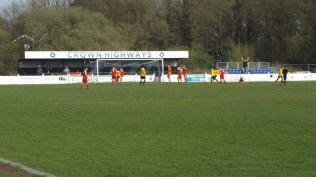 Ouch. Later in the second half Warwick score a goal. Come on the Wood!