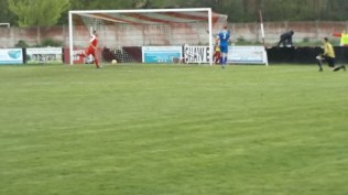 Later in the second half and Wood score their third goal. Score now WWFC 3, Paget Rangers 0