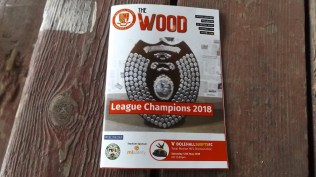 The final matchday programme of this amazing season. May 12, 2018