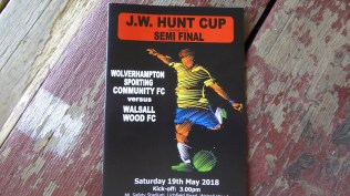 Semi final day for a worthy charity