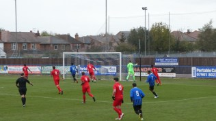 First half and Long Eaton are on the attack. Bright start to an interesting , sporting contest