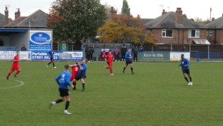 Long Eaton show determination and grit as they pull out all the stops. Later in the second half
