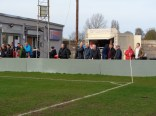 A large crowd of spectators enjoyed the game, and the delicious beefburgers.
