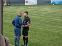 At long length the referee has a very strong and possibly final word with Khalsa manager. It is so important as the quality of the football, and respect for the officials comes first and foremost from team managers, before it can filter down to the players.