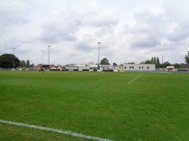Overture and beginners! The clubhouse and verdant grass look splendid to honour the start of the new soccer season.