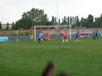 Third goal to the Wood and it is not yet half time. Super football being played here today, by both sides
