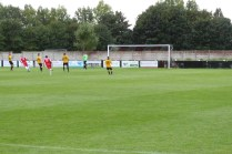 Second half equaliser by the Wood as Alvechurch defence look on. Game on!