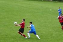 Super skilful soccer in action.
