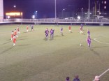 Yes, the ball did go in, said the official furiously waving her flag and Loughborough are awarded the equalising goal . Elation and relief… for Loughborough