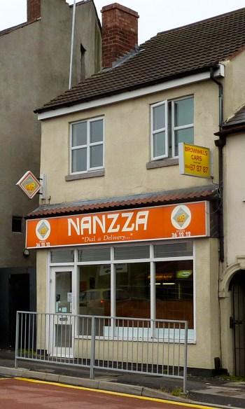 Is this a nickname perhaps? Maybe it's just a carcrash between 'naan' and 'pizza'