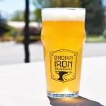brown iron craft beer