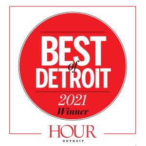HOUR best of detroit 2021 award
