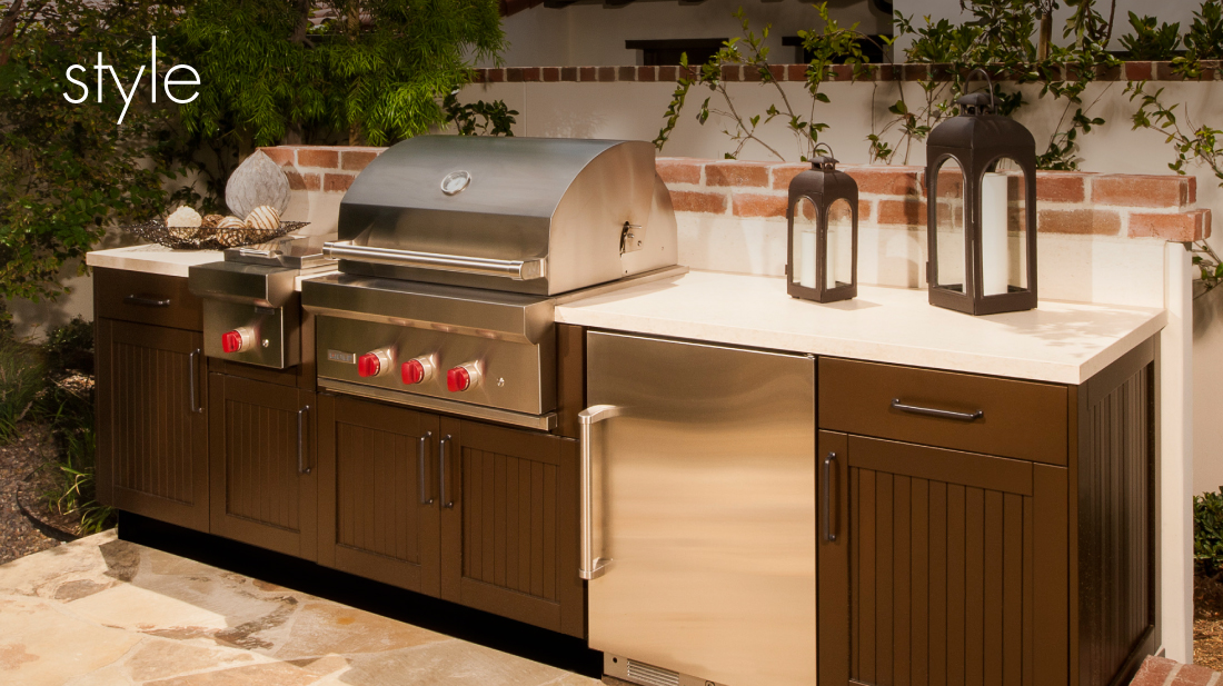 outdoor kitchens pictures home depot kitchen faucets delta luxury brown jordan stainless steel