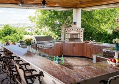 out door kitchen portable island target outdoor design ideas brown jordan kitchens dublin ca