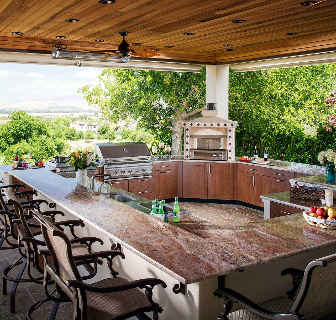 brown jordan outdoor kitchens wood mode kitchen cabinets ideas