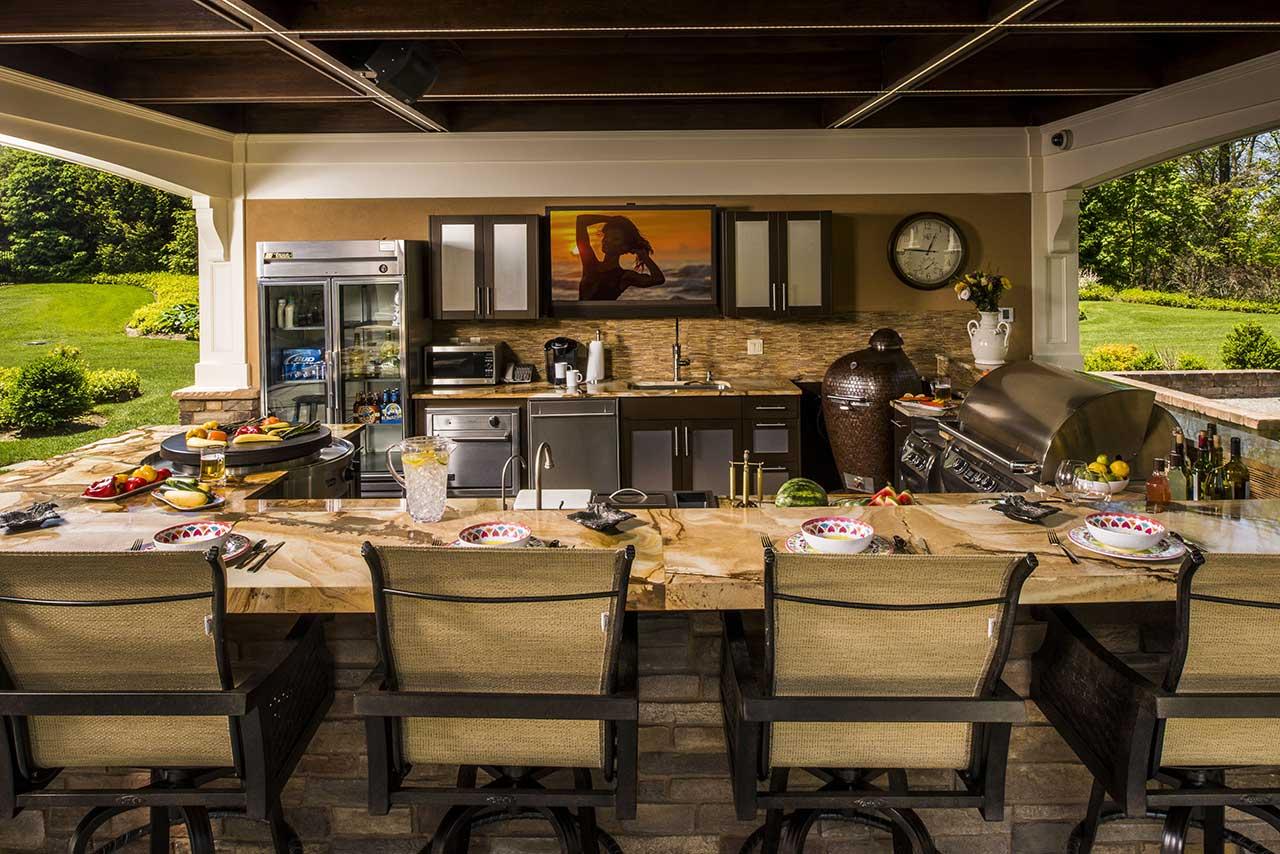 brown jordan outdoor kitchens kitchen island with wheels ideas